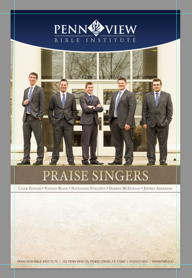Photoshop bleed Example