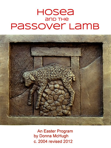 Hosea and the Passover Lamb by Donna McHugh