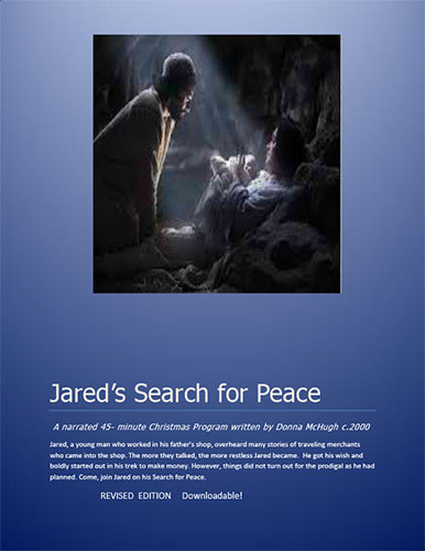 Jared's Search for Peace by Donna McHugh