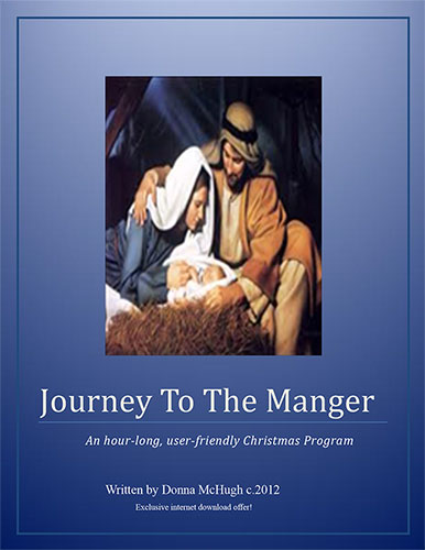 Journey to the Manger by Donna McHugh