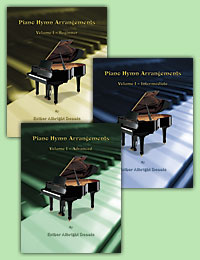 Piano Hymn Arrangements by Esther Albright Dennis