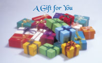 Pile of Gifts - Greeting Card