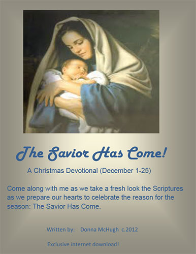 The Savior Has Come by Donna McHugh