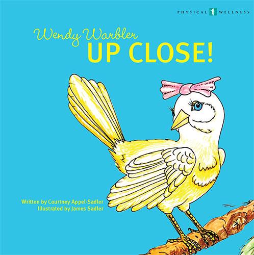 Wendy Warbler Up Close! by Courtney Appel-Sadler